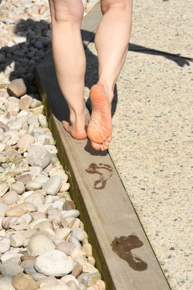 jardin pieds nus Normandie